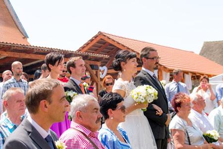 Svatby - bílo zelená svatba