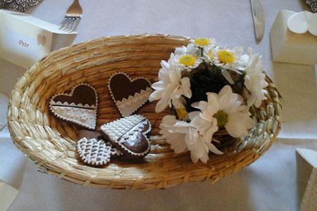 Svatby - Marguerites - chrysanthemums