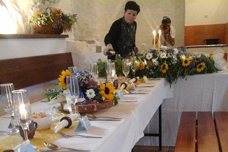 Svatby - luční kvítí