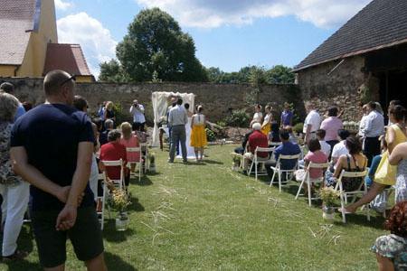Svatby - obilí