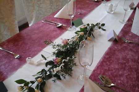 Svatby - podzimní barvy
