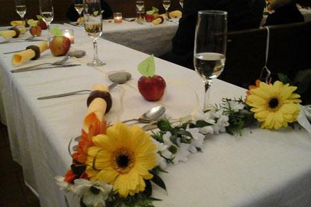 Svatby - podzimní-jablíčková