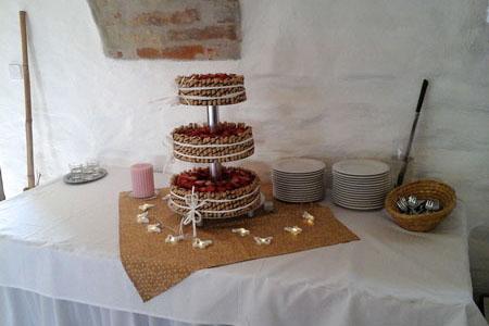 Svatby - starorůžová