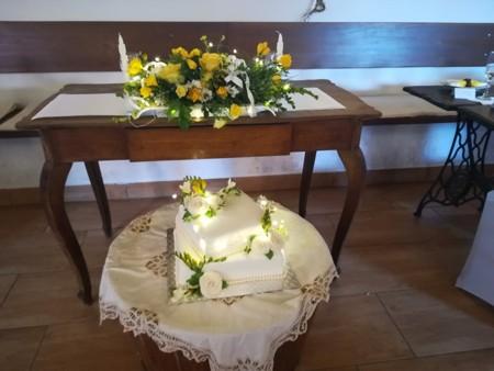 Svatby - žluté růže