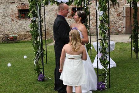Svatby - zvonečková svatba