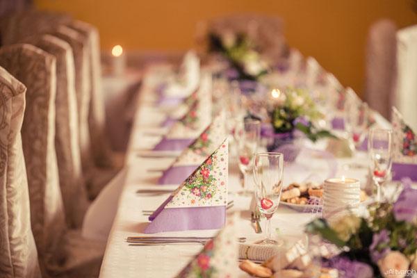 Hotel Černice - svatební tabule