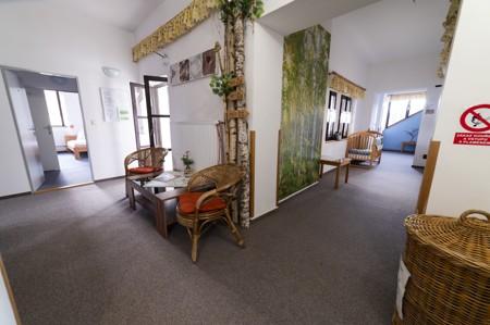 3 - Hotel Černice - ubytování: - Vnitřní a venkovní prostory společné prostory