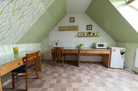 4 - Hotel Černice - ubytování: - Vnitřní a venkovní prostory společné prostory