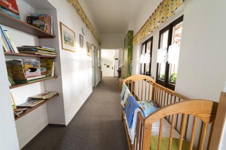 7 - Hotel Černice - ubytování: - Vnitřní a venkovní prostory společné prostory
