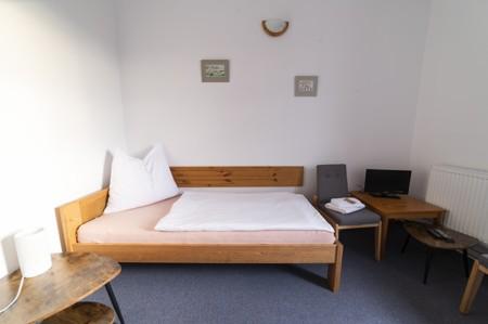 41 - Hotel Černice - ubytování: - Dvojlůžkový pokoj (postele 1 + 1), 1. patro