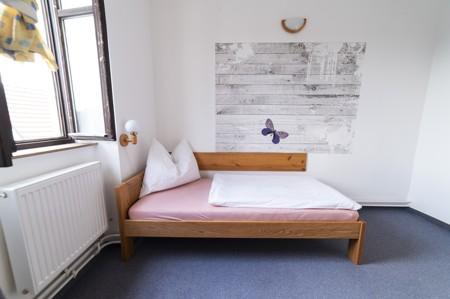 42 - Hotel Černice - ubytování: - Dvojlůžkový pokoj (postele 1 + 1), 1. patro