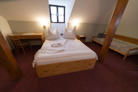 73 - Hotel Černice - ubytování: - Pokoje v 2. patře
